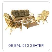 GB BALI-01-3 SEATER